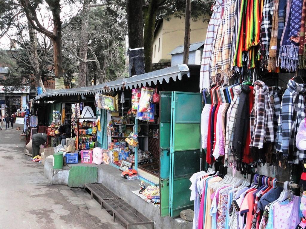 Tibetan Market, Kasauli