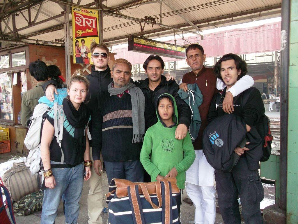 At Gaya railway station