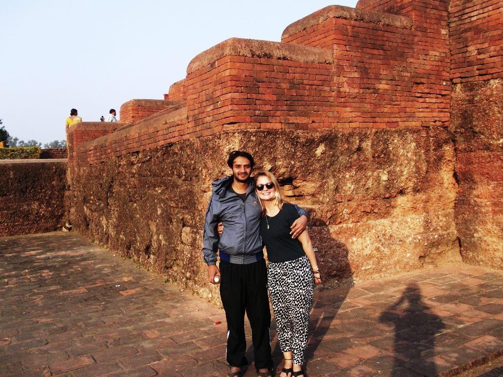 At Nalanda University