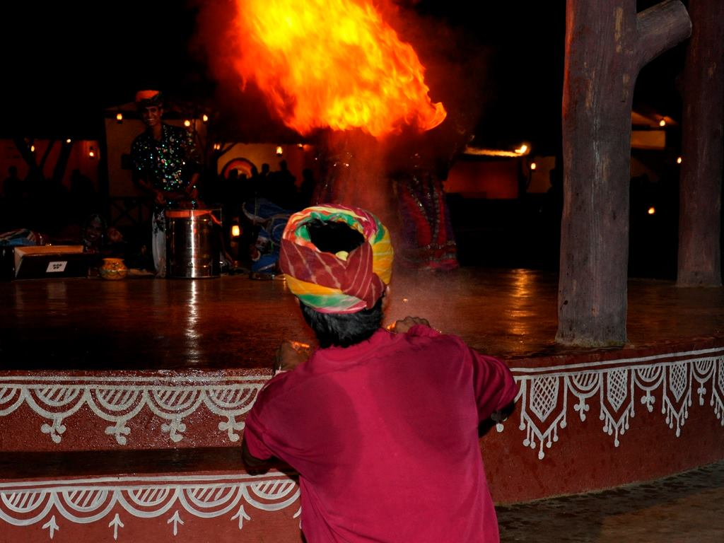 Fire performance at Chokhidhani Chennai
