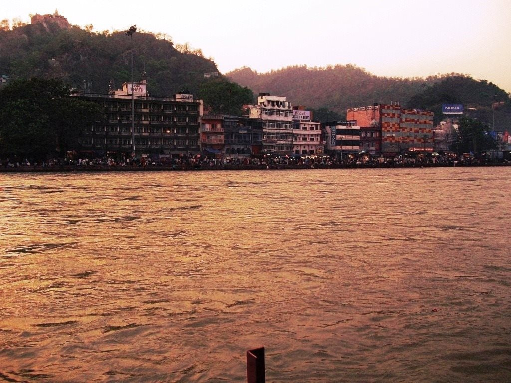 Ganga ghats in evening, Haridwar