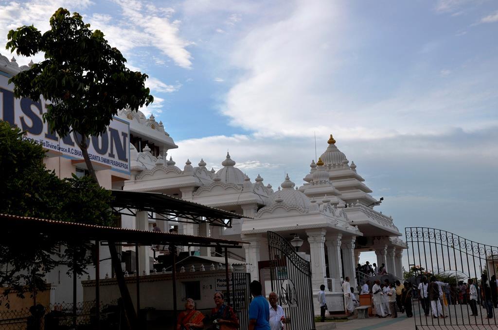 Isckon Chennai Entrance