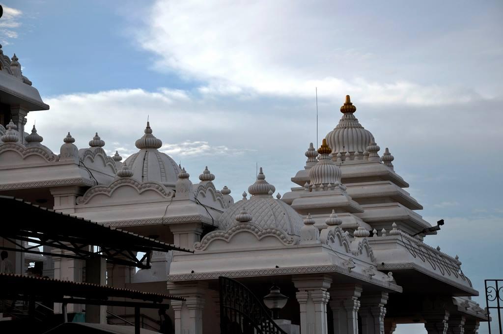 Isckon temple Chennai dome