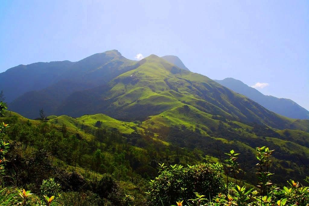 On the way to Kumara parvatha trek
