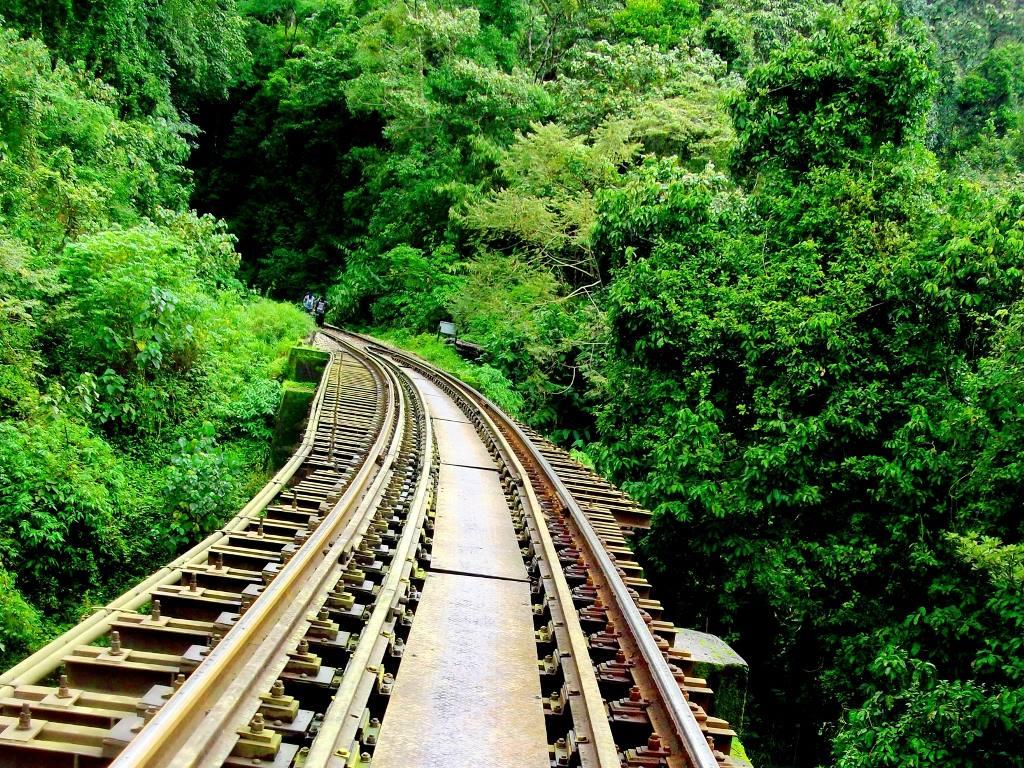 Railway bridge on sakleshpur railway  trek