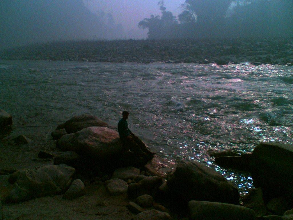 River Teesta in morning