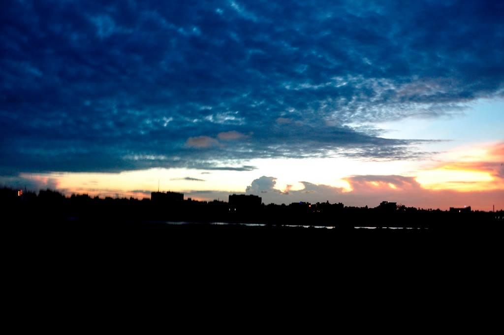 Sunset ECR near Isckon Chennai