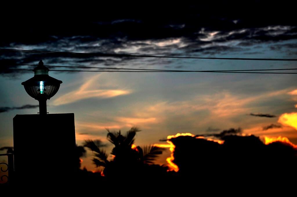 Sunset on ECR