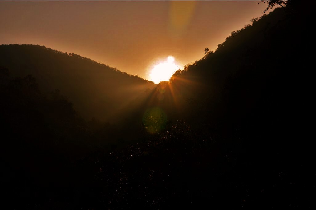 Nagala East trek sunrise