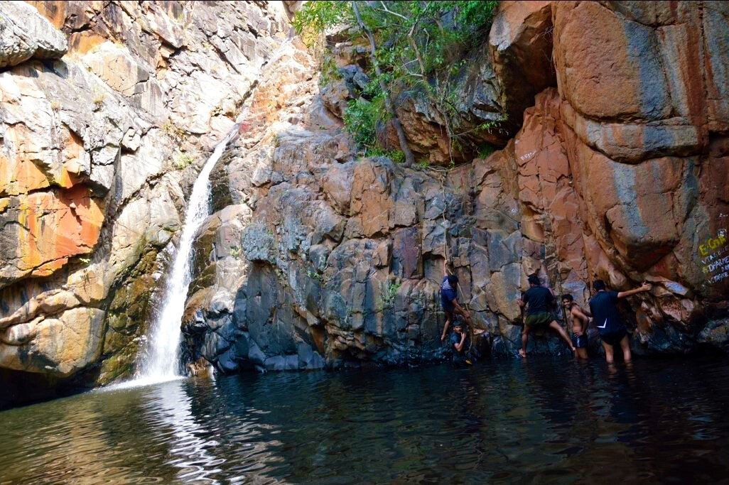 waterpool and falls on nagala east