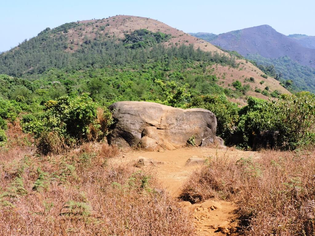 Tadiandamol camping site big rock