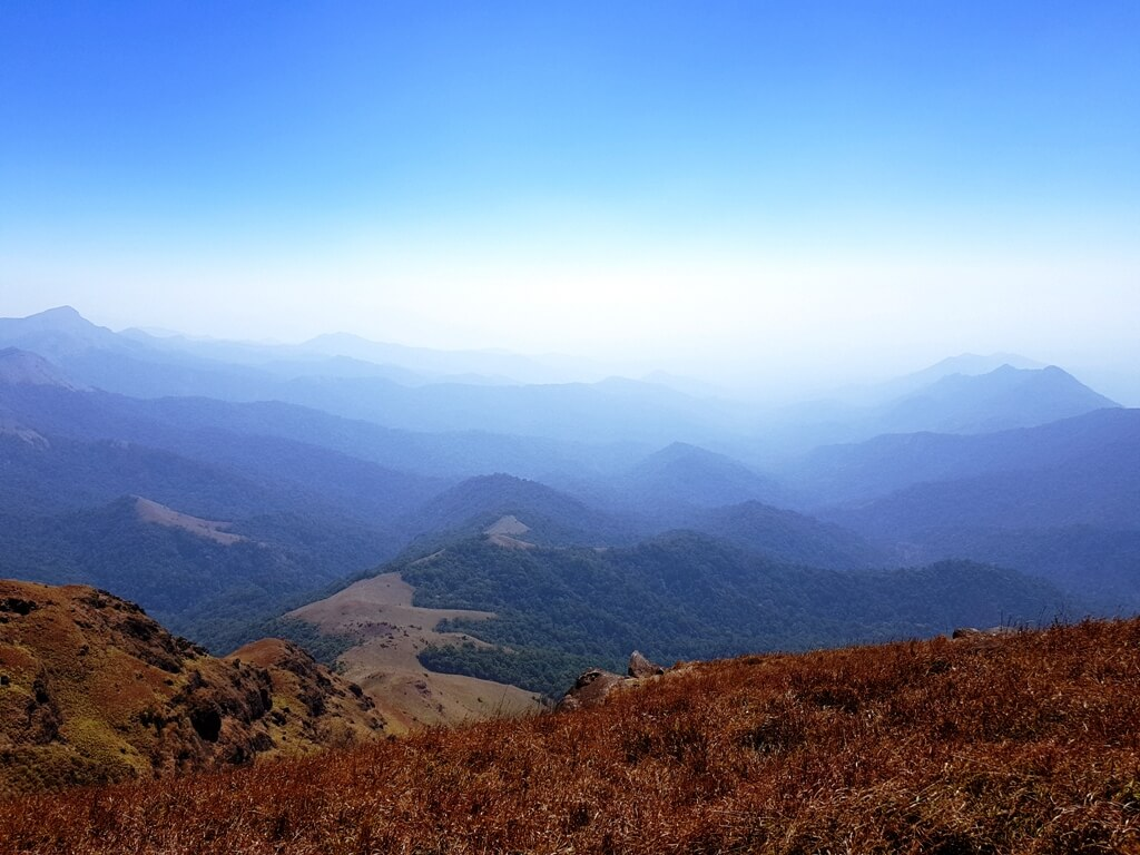 Tadiandamol view from the peak