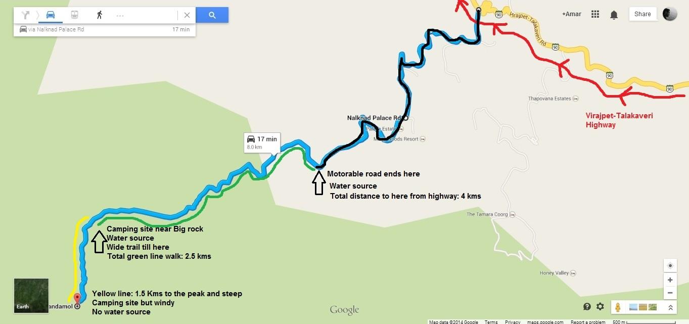 tadianmol trail details