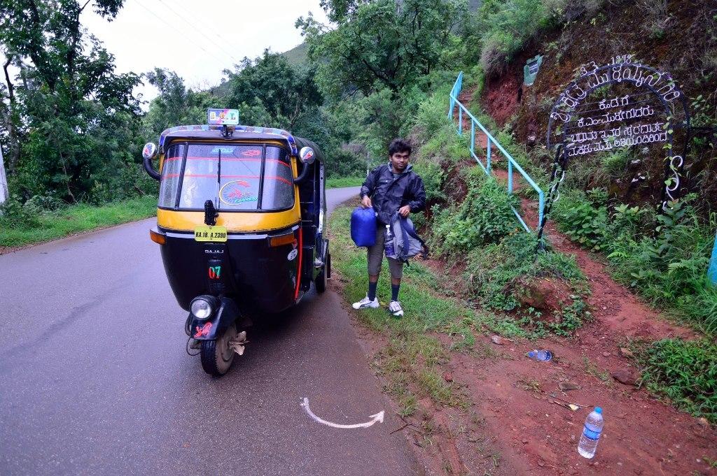 Mullayanagiri Sarpadhari trek beginning point