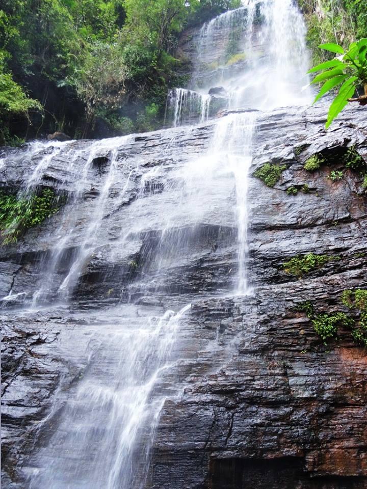 Jhari waterfalls, near mullayanagiri Bababudangiri