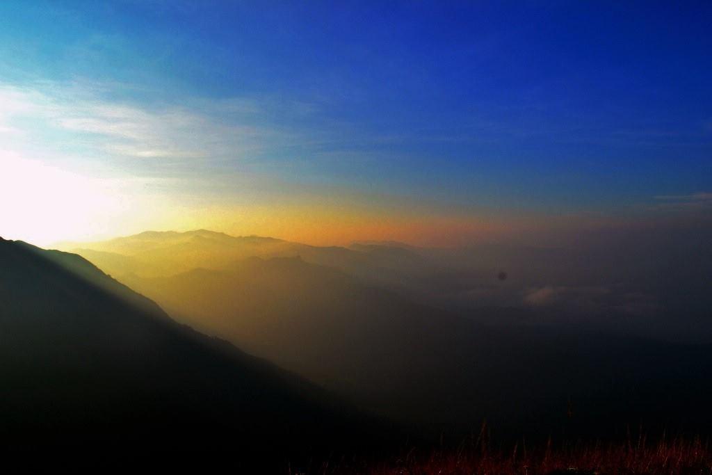 Kodachadri sunrise