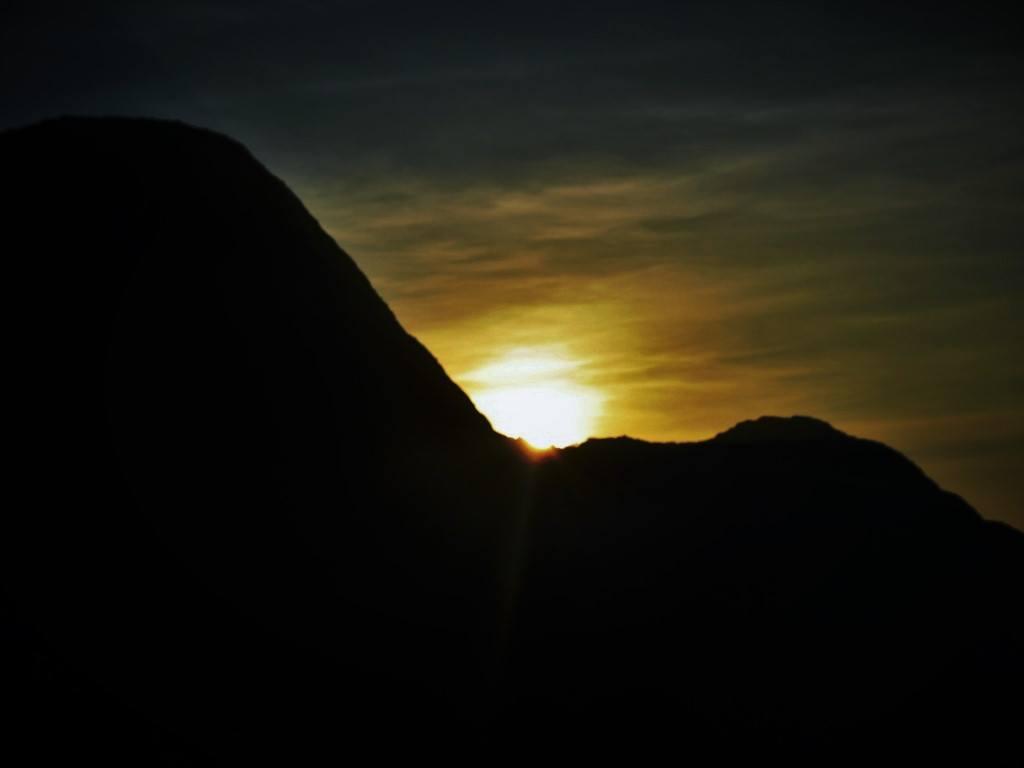 Kodachadri sunset