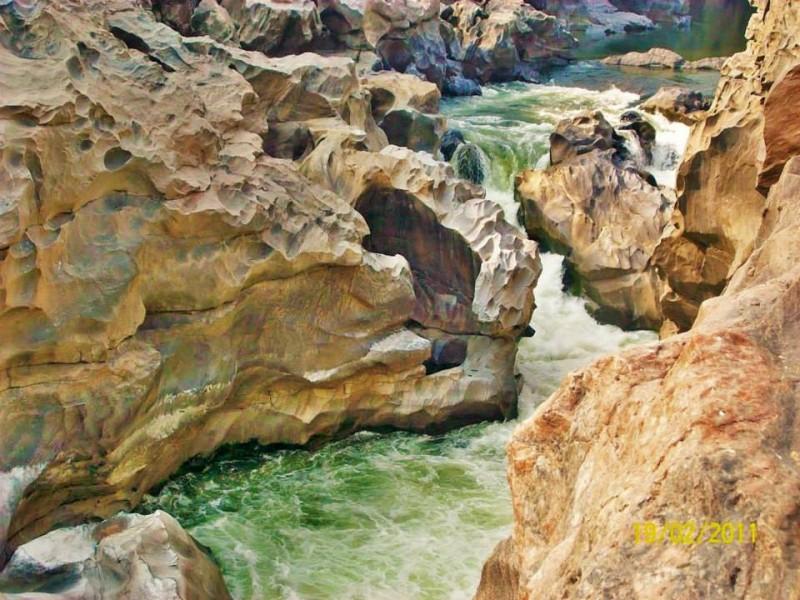 mekedatu falls from Bangalore