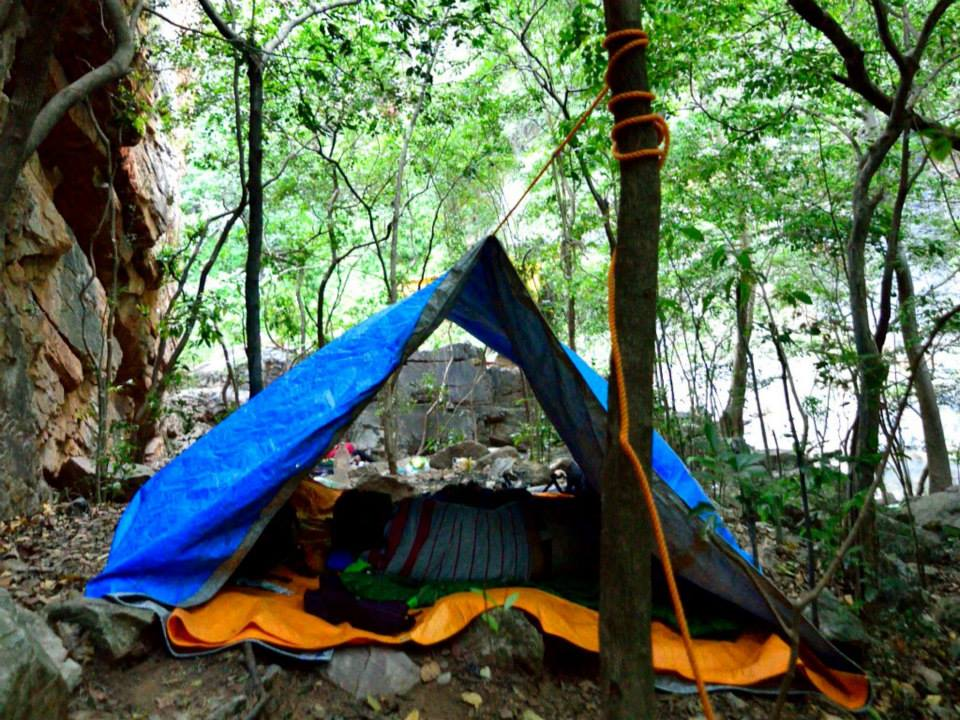 Camping western Ghats tents south India trek (5)