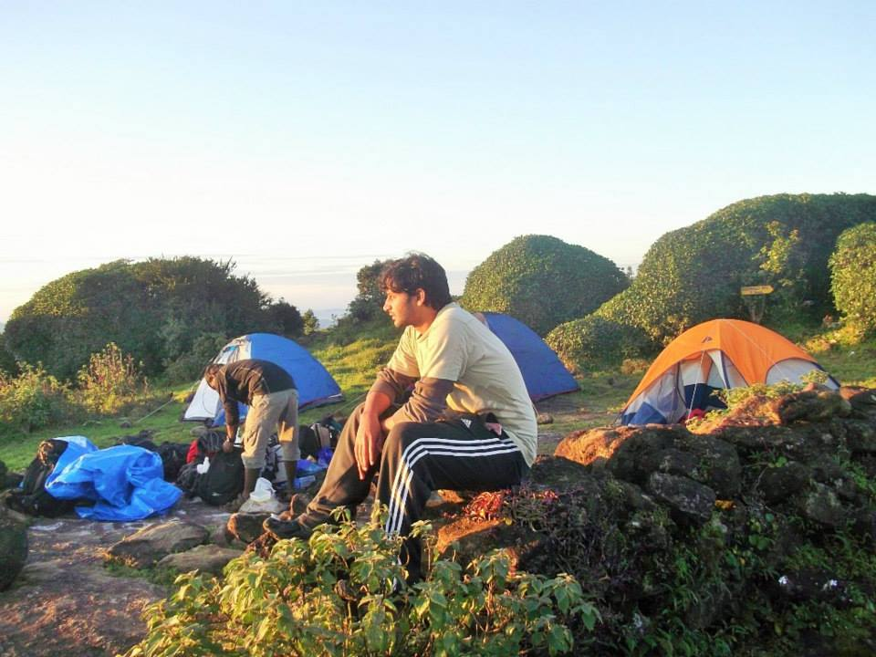 Camping western Ghats tents south India trek (6)