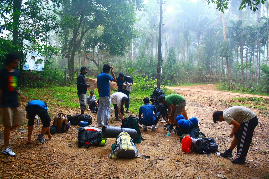 Packing style western ghats, south India treks