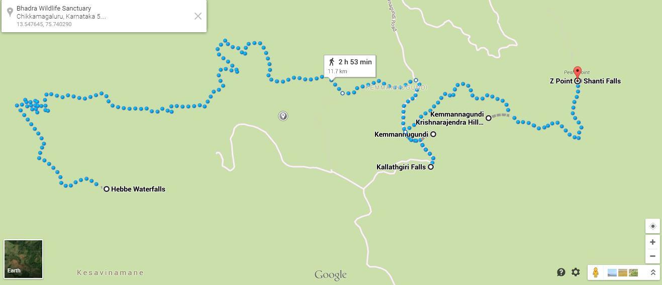 Places to see around Kemmangundi