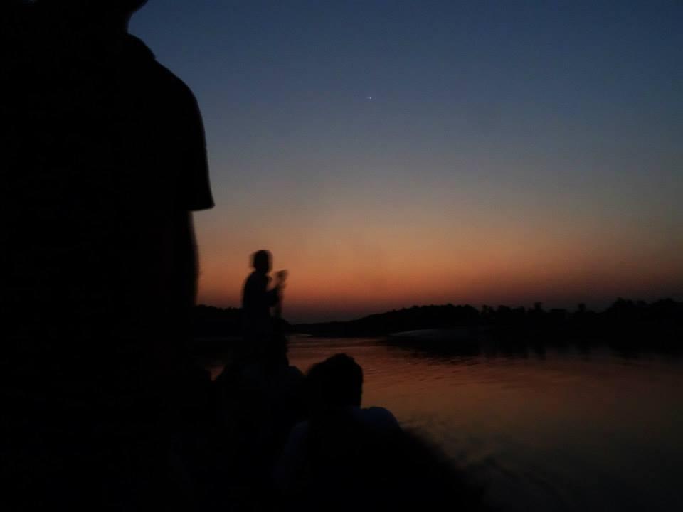 Boating at night safari, Sundarbans