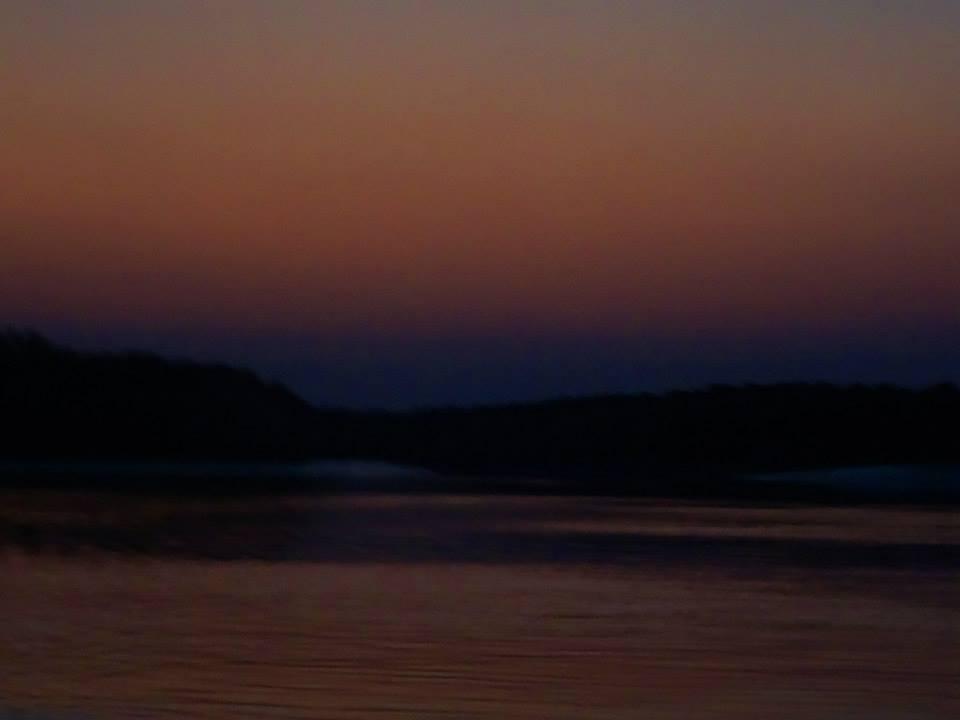 Dimly lit horizon at Sundarbans