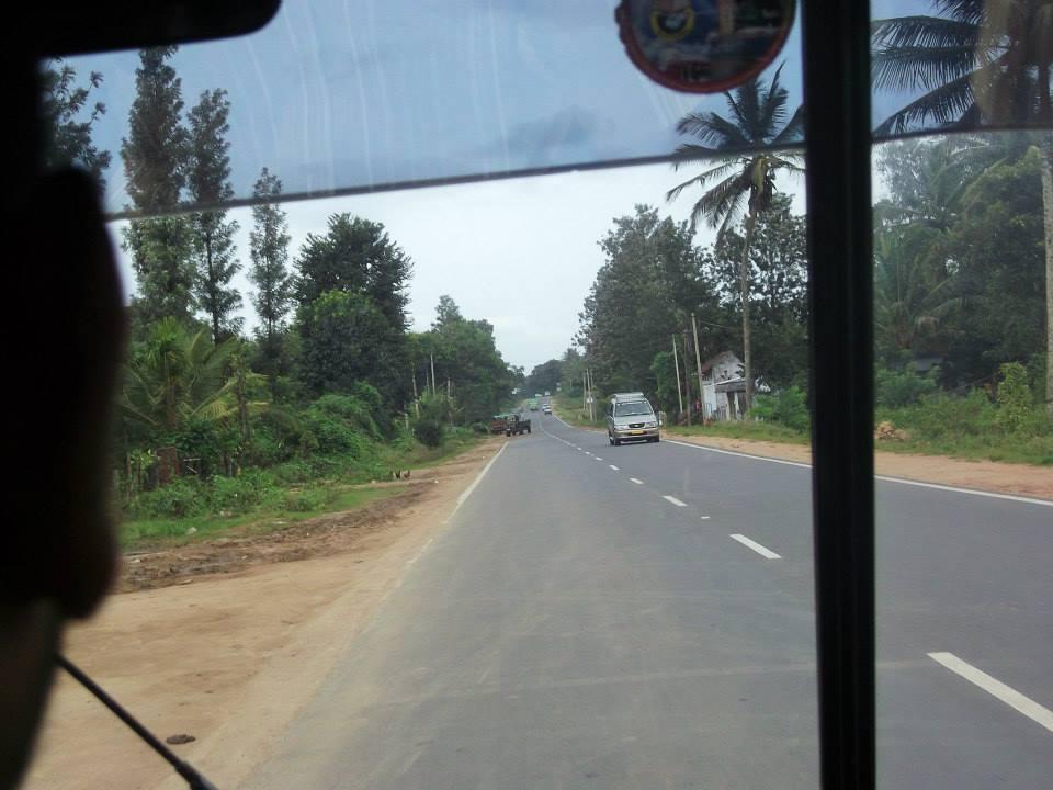 On the way from mysore to srirangapatna