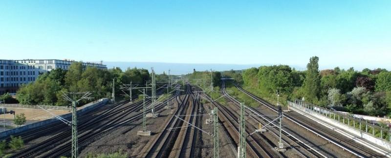 A ringbahn railway line, Berlin