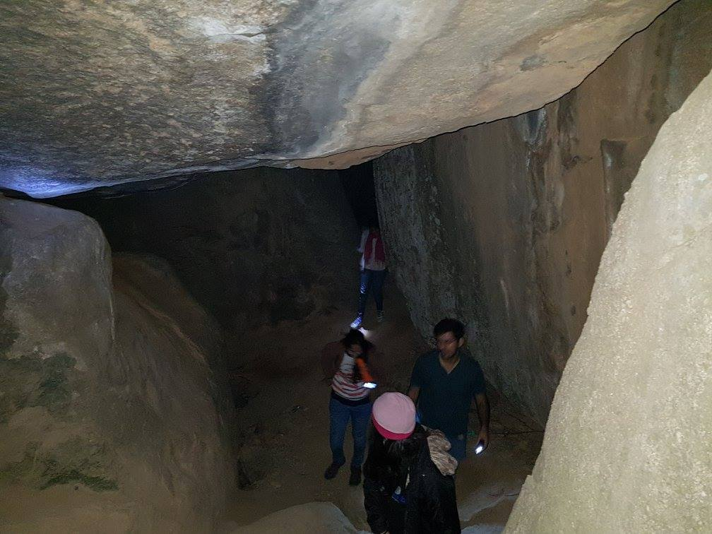 Anthargange caves exploration on night trek