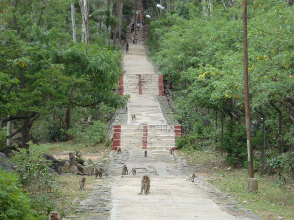 Anthargange temple steps