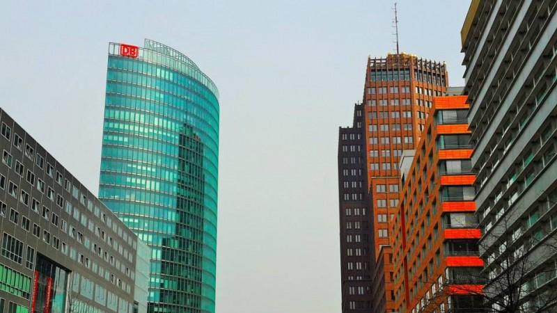 Berlin High rising buildings