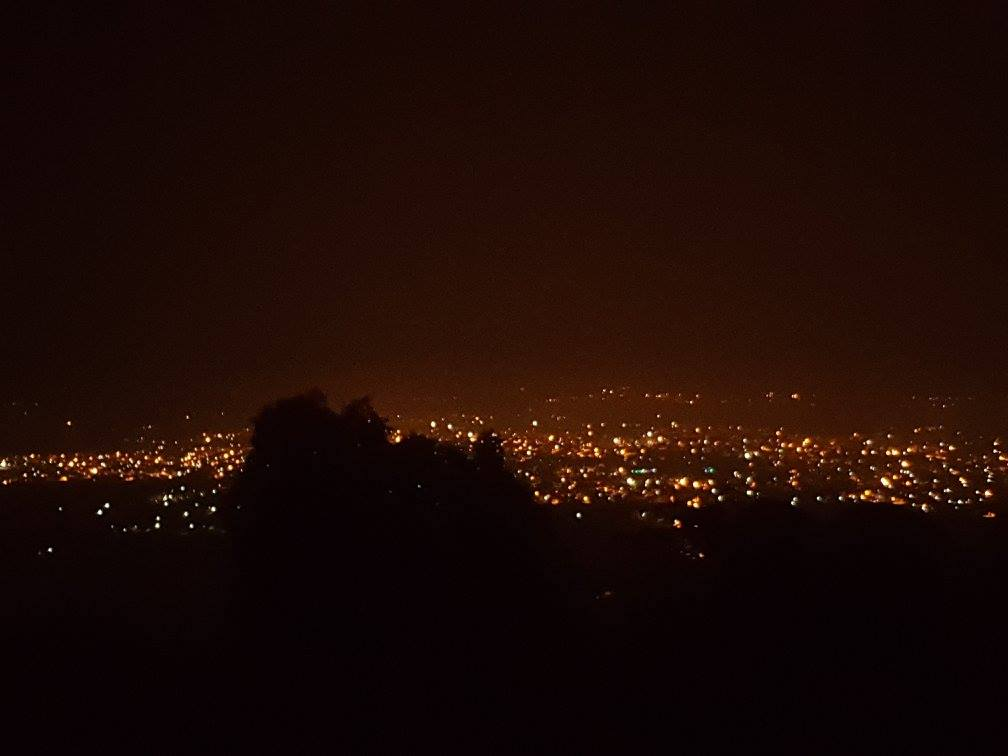 Kolar at night from Anthargange