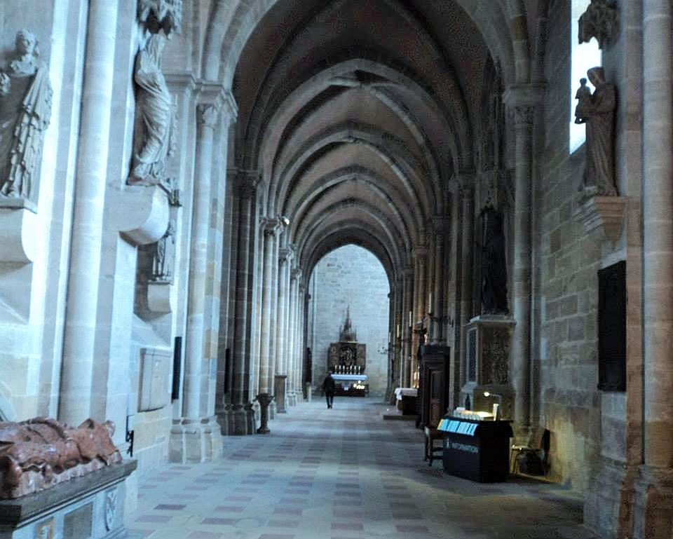 Main nave of the Bamberg cathedral