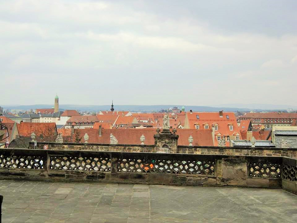 Bamberg town from Bamberg Cathedral