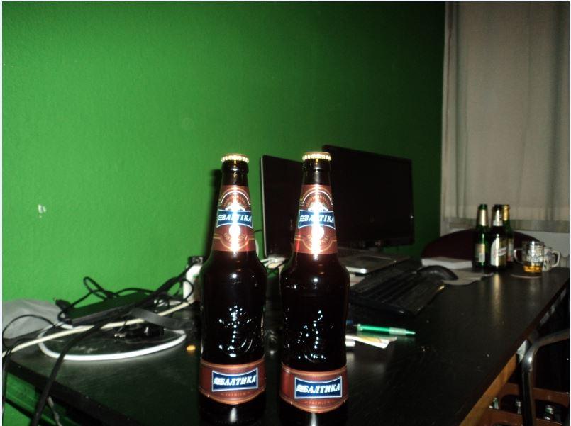 Russian Beer Baltika 9