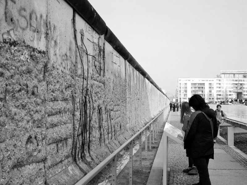eastern side gallery at berlin wall