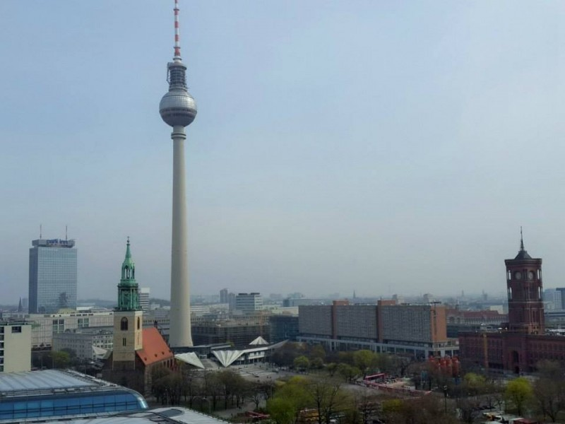 Fernsehturm Berlin TV tower, Alexanderplatz (1)
