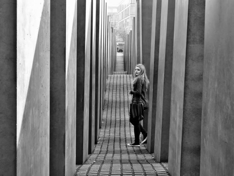 Holocaust memorial to murdered Jews of Europe, Berlin (1)