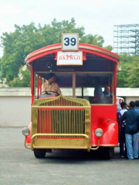 Ramoji film city, bus tour