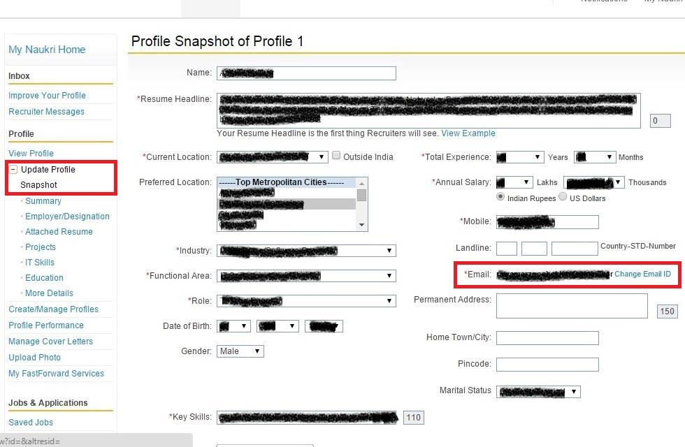 How to delete/deactivate your naukri.com profile/account? - Trekkerpedia