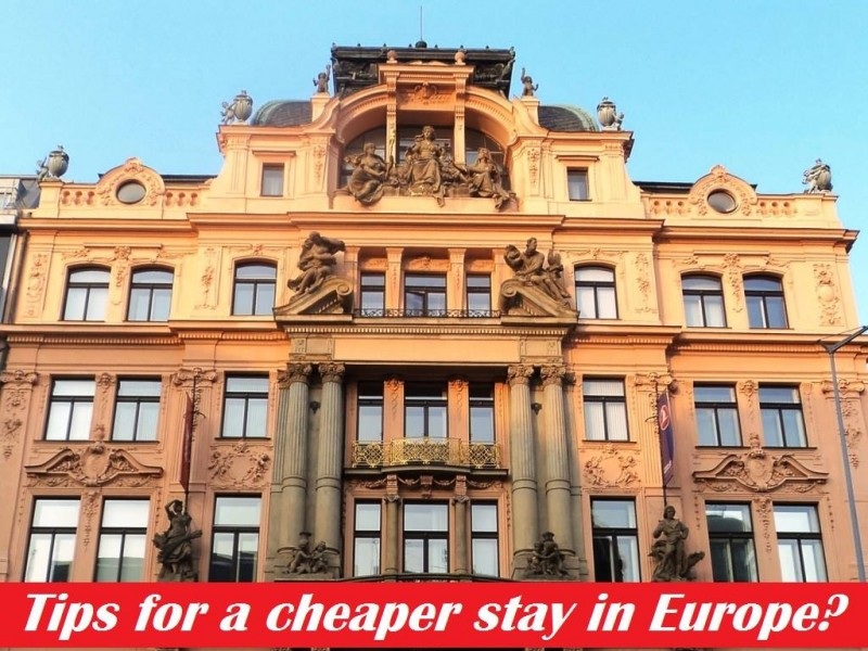Finding a cheap hotel in Europe