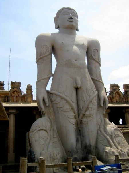 Gomateshwara bahubali statue