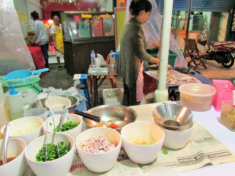 Local street food market, Thailand (2)