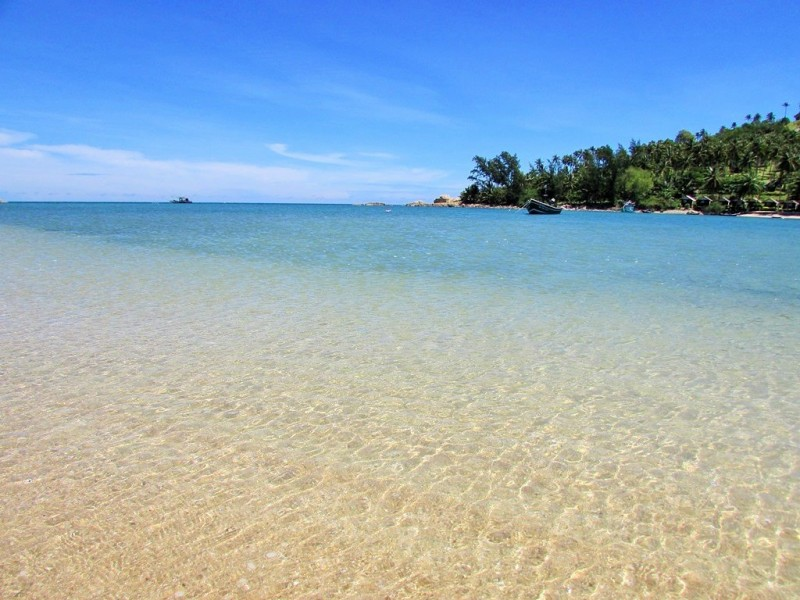 ko phangan beach, shallow, thailand