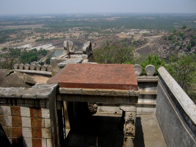 temple entrance, shravanabelagola