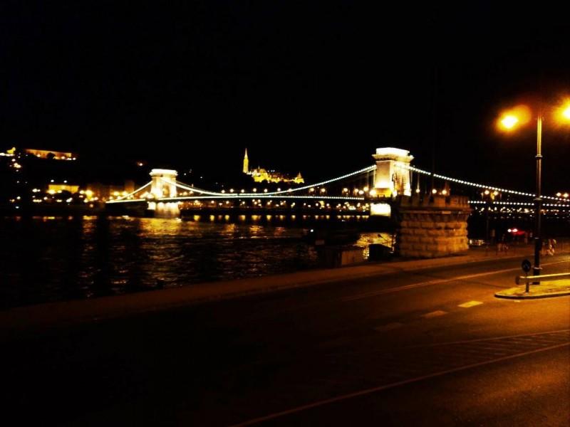 Chain bridge, Budapest at nightChain bridge, Budapest at night
