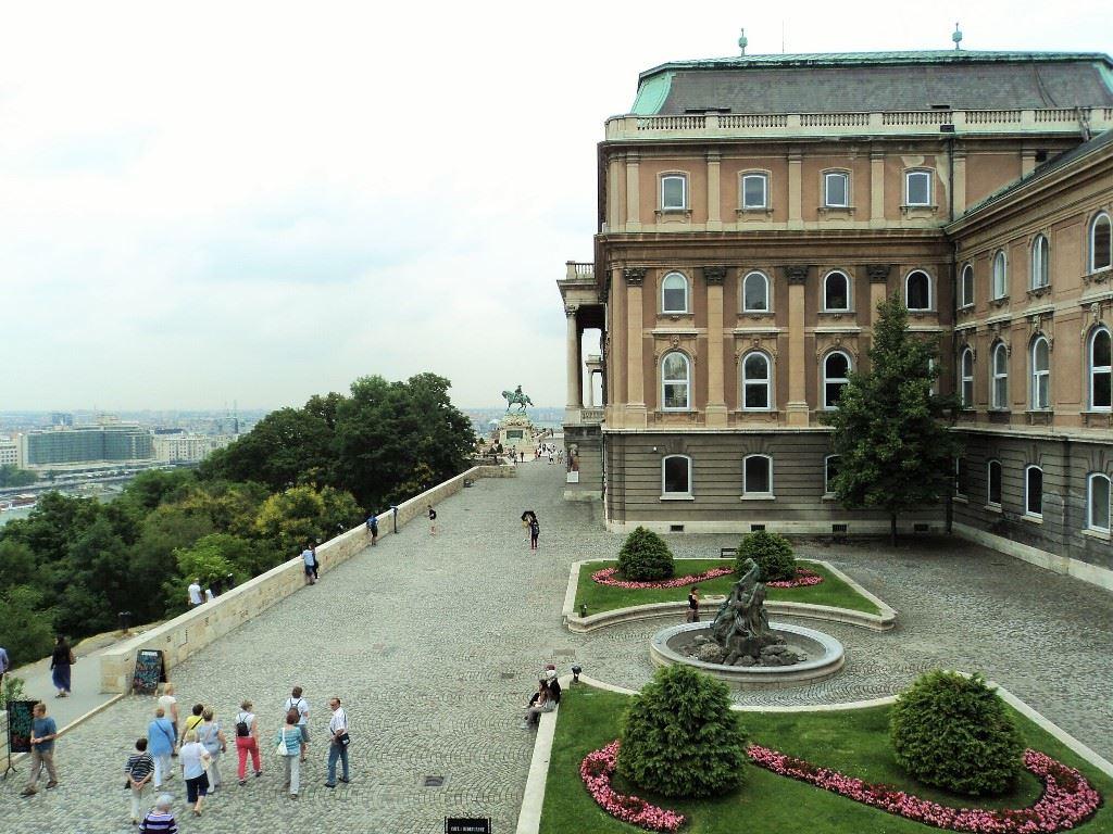 Buda Castle Savoyai terrace