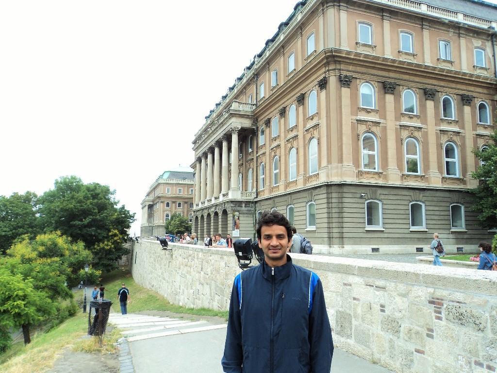 Buda castle steps